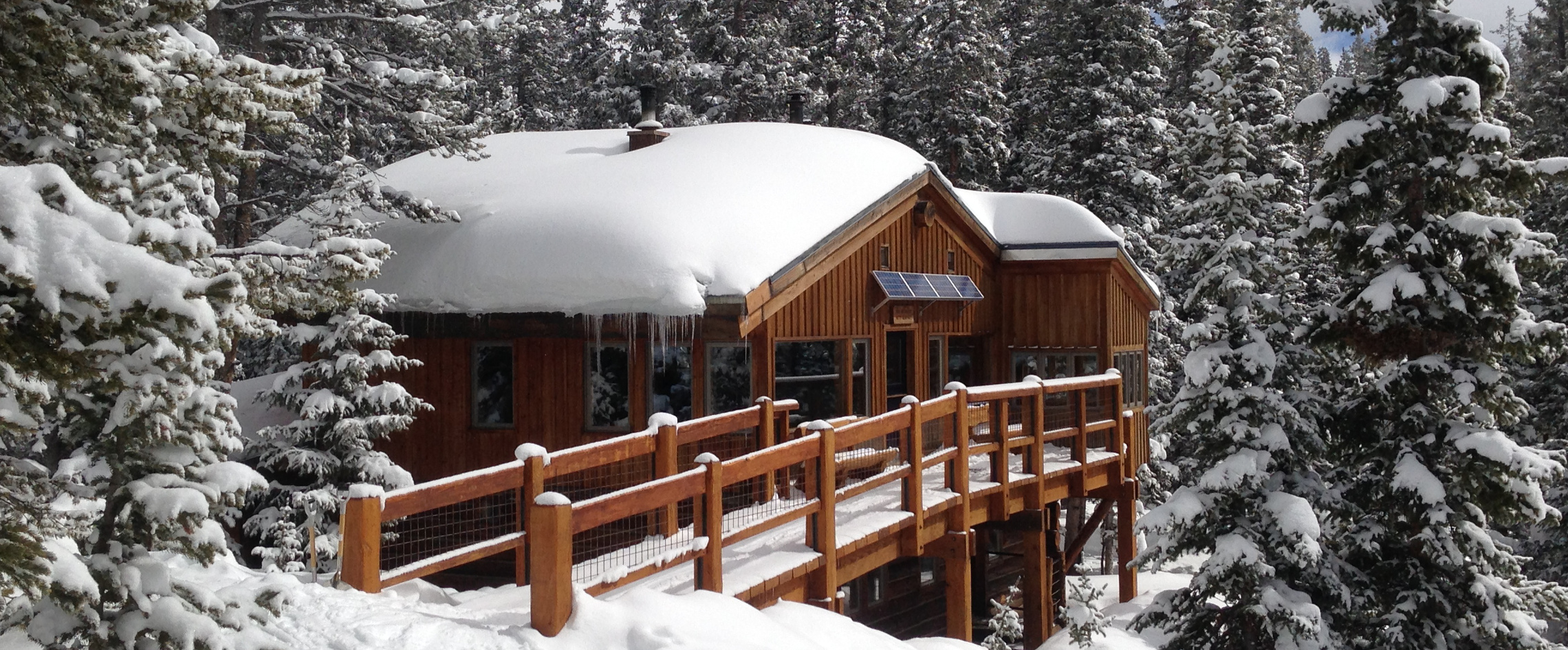 Spring snow at Betty Bear